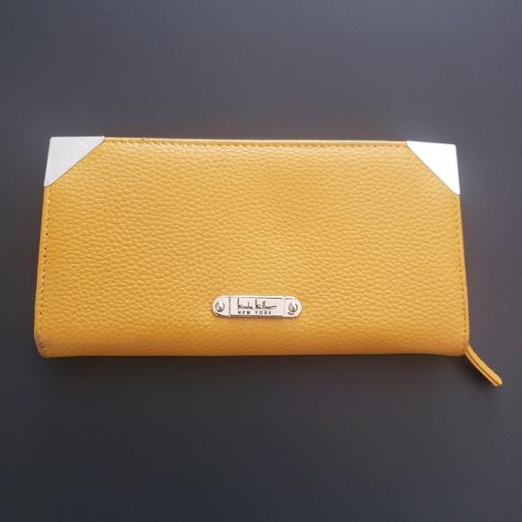 Nicole Miller Handbags - BRAND NEW! NICOLE MILLER MUSTARD YELLOW WALLET